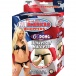 Nasstoys - All American Whoppers 6.6″ Dong w/ Universal Harness - Flesh photo-6