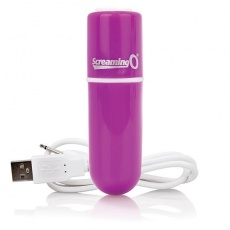 The Screaming O - Charged Vooom Bullet Vibe - Pink photo