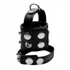 Strict - Cock Strap and Ball Stretcher - Black