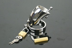 XFDBSM - The Captus Stainless Steel Chastity Device photo