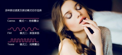 Nomi Tang - Better than Chocolate Massager - Fuchsia photo