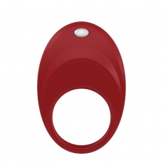 Ovo - B7 Vibrating Ring - Red photo
