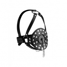 Strict - Open Mouth Head Harness - Black photo