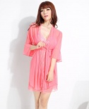 SB - Babydoll with Sexy Robe A269-5 - Pink