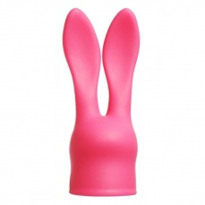 Wand Essentials - Rabbit Attachment for Vibes - Pink photo