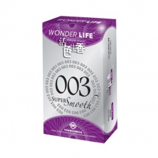 Wonder Life - 003 Super Smooth Ultra Thin 10's Pack photo