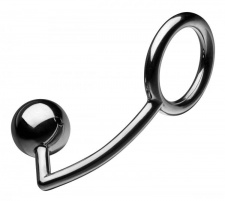 TOF - Steel Cock Ring with Anal Ball