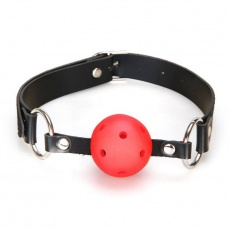 S&M - Breathable Ball Gag - Red photo