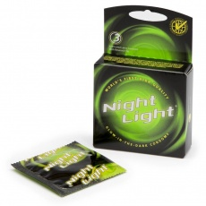 Global Protection - Night Light Glow in the Dark 3's Condom  photo