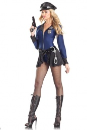 BeWicked - BW1096 Flip The Badge Police Costume - M/L photo