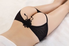 SB - Panties T178 Black photo