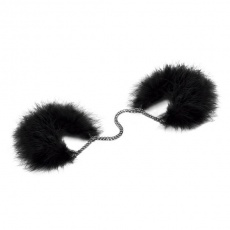 Bijoux Indiscrets - Za Za Zu Feather Handcuffs - Black photo