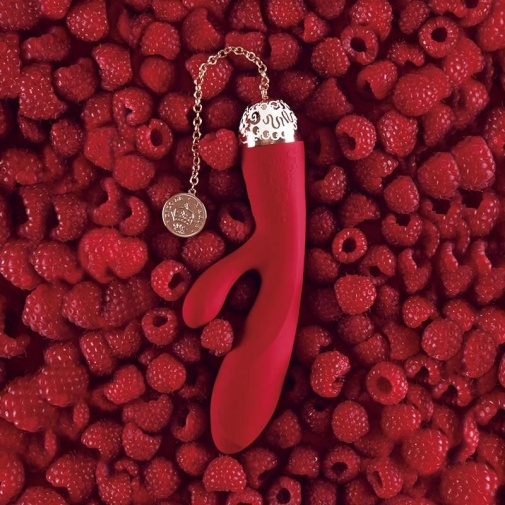 Zalo - Rosalie Rabbit Vibrator - Bright Red photo
