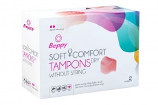 Beppy - Soft & Comfort Dry Tampons 2's Pack photo