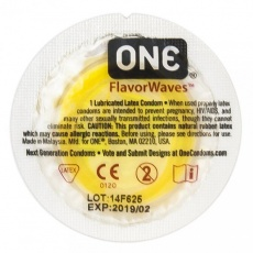 One Condoms - Flavor Waves 1 pc photo