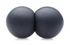 Master Series - Sin Spheres Silicone Magnetic Balls - Black photo