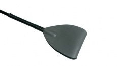GreyGasms - Leather Riding Crop - Grey photo