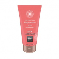 Shiatsu - Love Lubricant Edible Acerola Cherry - 75ml photo