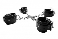 Strict - Hog-Tie Restraint System - Black photo