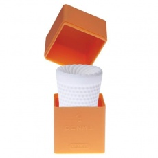 Genmu - G-Screw Capsule Masturbator - Orange photo