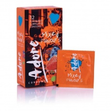 Pasante - Adore Mixed Flavours Condoms 12's Pack photo