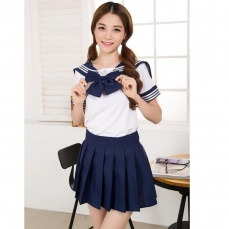SB - School Girl S129 - Navy Blue photo
