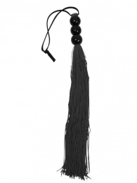 Sportsheets - Medium Black Rubber Flogger photo