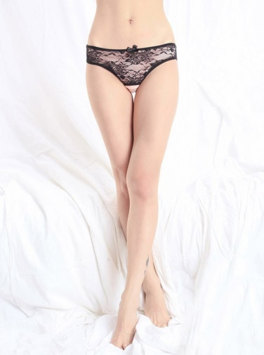 SB - Panties T141 - Black photo