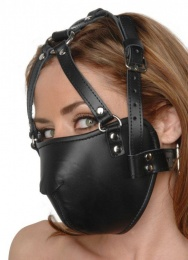 Strict Leather - Face Harness - Black photo