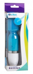 Massera - Aura Wand 10 Function Travel Massager - Blue photo