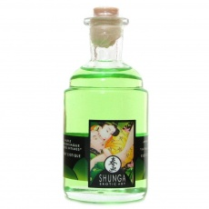 Shunga - Warming Massage Oil 100ml - Organic Green Tea photo