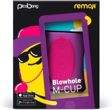 Picobong - Remoji Blowhole M-Cup - Purple photo