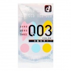 Okamoto - Zero Zero Three 0.03 3-colors (Japan Edition) 12's Pack
