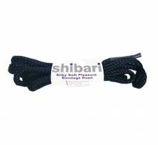 Shibari - Silky Soft Bondage Rope - Black photo