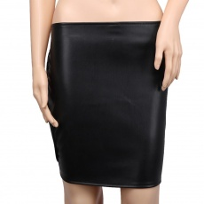 MT - Leather Skirt 1 photo