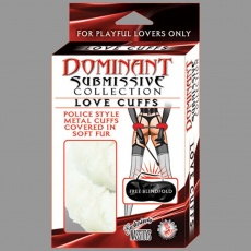 Nasstoys - Dominant Submissive Collection Love Cuff - White photo