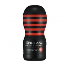 Tenga - Deep Throat Cup Hard - Black photo