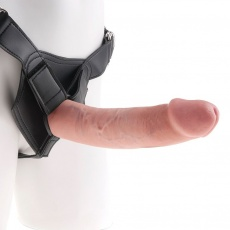 King Cock - Strap-On Harness 9″ Cock - Flesh photo