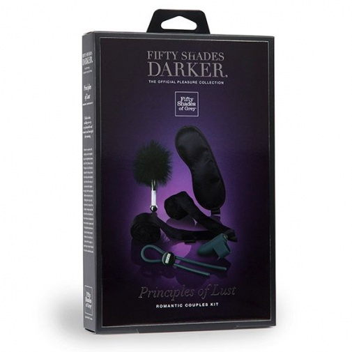 Fifty Shades of Grey - Darker Principles of Lust Romance Couples Kit photo