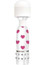 Bodywand - Mini Hearts Massagers -  Wht/Pink photo