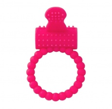 A-Toys - Cock Vibro Ring - Pink