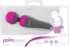 Palmpower - Massager - Fuschia - Wireless Adapter-charging photo