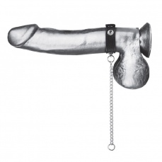 Blueline - Snap Cock Ring With 12'' Leash photo