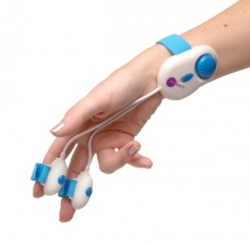 Massera - Dobla Double Finger Massager - Blue photo