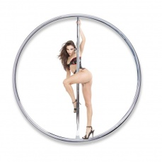 Fetish Fantasy - Fantasy Dance Pole - Silver photo
