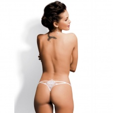 Obsessive - Luiza Thong - White - S/M photo