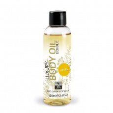Shiatsu - Luxury Edible Body Oil - Vanilla 100ml photo