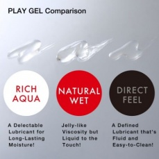 Tenga - Play Gel Natural Wet Red Lube - 160ml photo