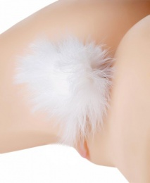 Tailz - Bunny Tail Anal Plug - White photo