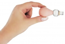 Size Matters - Nipple Enlarger with Rings - Flesh photo